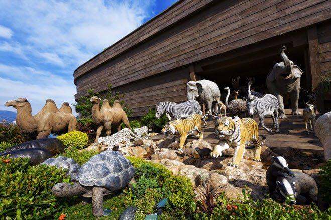 Antall dyr av hver sort på arken