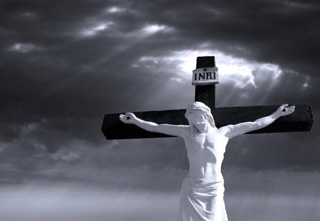 Jesus døde på korset