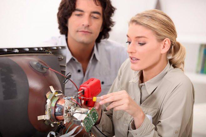 Vitenskap quiz 2 reparere TV